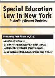 Special Education Law in New York