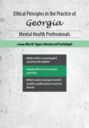 Ethical Principles in the Practice of Georgia Mental Health Professionals