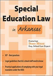 Special Education Law in Arkansas