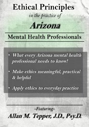 Ethical Principles in the Practice of Arizona Mental Health Professionals
