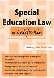Special Education Law in California