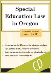 Special Education Law in Oregon