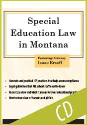 Special Education Law in Montana