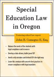 Significant Special Education Legal >> Product Detail