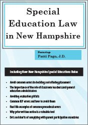 Special Education Law in New Hampshire