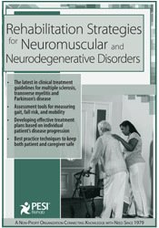 Rehabilitation Strategies for Neuromuscular & Neurodegenerative Disorders