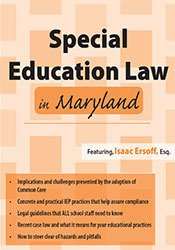 Special Education Law in Maryland