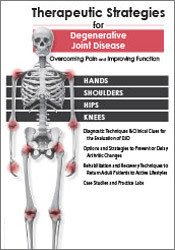 Therapeutic Strategies for Degenerative Joint Disease: