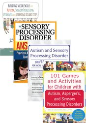 Autism and Sensory Processing Disorder Strategies Bundle: Seminar Recording + 3 Books