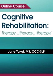 Image of Cognitive Rehabilitation: Therapy…therapy…therapy!