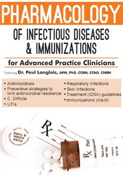 Pharmacology of Infectious Diseases and Immunizations for Advanced Practice Clinicians