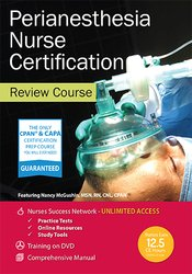 Perianesthesia Nurse Certification Review Course