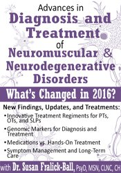Advances in Diagnosis and Treatment of Neuromuscular & Neurodegenerative Disorders: