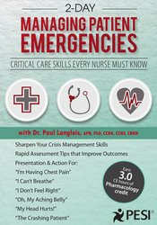 2 Day - Managing Patient Emergencies: Critical Care Skills Every Nurse Must Know
