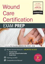 Wound Care Certification: Exam Prep Package with Practice Test & NSN Access