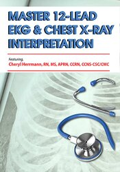 12-Lead EKG & Chest X-Ray Interpretation: