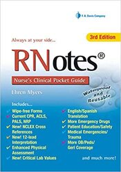 RNotes® : Nurse's Clinical Pocket Guide, 5th Edition