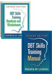 DBT Skills Training, 2nd Edition Book +  Handouts and Worksheets Package