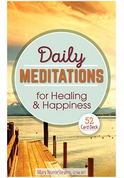 Image of Daily Meditations for Healing and Happiness: 52 Card Deck
