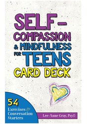 Image of Self-Compassion & Mindfulness for Teens Card Deck