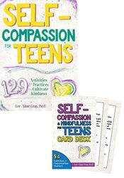 Self-Compassion for Teens Card Deck + Workbook Kit