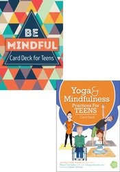 Yoga and Mindfulness for Teens 2-Card Deck Bundle