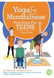 Image of Yoga and Mindfulness Practices for Teens Card Deck