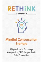 Image of RETHiNK Card Deck Mindful Conversation Starters: 56 Questions to Encou