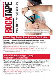 Kinesiology Taping and Advanced Kinesiology Taping Certification Course