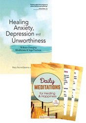 Healing Anxiety Workbook & Card Deck Bundle