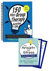 Therapy Tips & Tools Workbook & Card Deck Bundle
