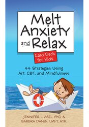 Image of Melt Anxiety and Relax Card Deck for Kids: 44 Strategies Using Art, CB