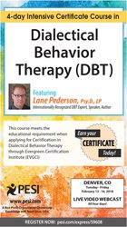 4-Day Intensive Certificate Course in Dialectical Behavioral Therapy