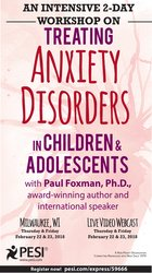 Image ofAn Intensive 2-Day Workshop on Treating Anxiety Disorders in Children