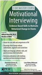 Image of2-Day Mastery Course: Motivational Interviewing: Evidence-Based Skills