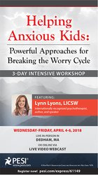 Image of3-Day Intensive Workshop Helping Anxious Kids: Powerful Approaches for