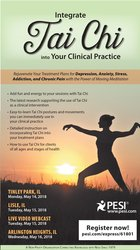 Image ofIntegrate Tai Chi into Your Clinical Practice: Rejuvenate Your Treatme