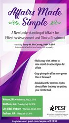 Image ofAffairs Made Simple: A New Understanding of Affairs for Effective Asse