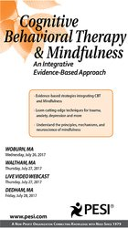 Image ofCognitive Behavioral Therapy and Mindfulness: An Integrative Evidence-