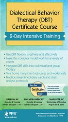Image ofDialectical Behavior Therapy (DBT) Certificate Course: 2-Day Intensive