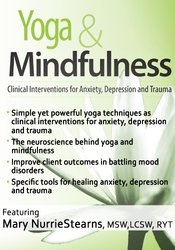 Image ofYoga & Mindfulness: Clinical Interventions for Anxiety, Depression and