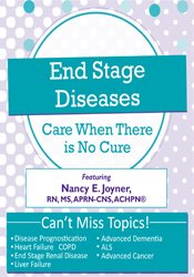 Image ofEnd Stage Diseases: Care When There Is No Cure