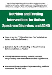 Image of Nutrition and Feeding Interventions for Autism Spectrum Disorders and