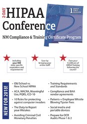 Image of Two-Day HIPAA Conference: Compliance and Training Certificate Program