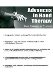 Image of Advances in Hand Therapy:  From Evaluation to Treatment
