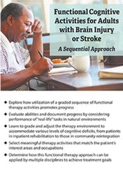 Image of Functional Cognitive Activities for Adults with Brain Injury or Stroke