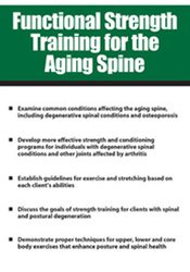 Image of Functional Strength Training for the Aging Spine
