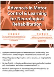 Image of Advances in Motor Control and Learning for Neurological Rehab