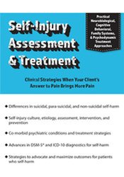 Image of Self-Injury Assessment & Treatment: Clinical Strategies When Your Clie