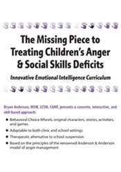 Image of The Missing Piece to Treating Children's Anger & Social Skills Deficit